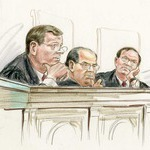 Justices Roberts, Scalia and Alito